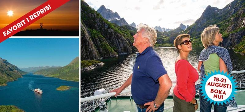 Hurtigruten+%E2%80%93+fr%C3%A5n+Kirkenes+till+Bergen