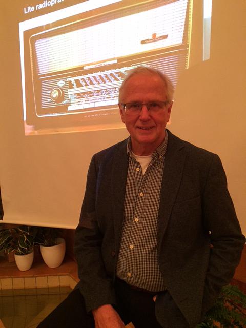 Radioprofilen Jon Norberg på Faluns medlemsmöte