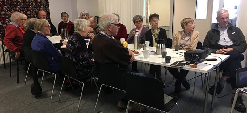 SPF Seniorerna Falun på studiebesök hos Nordic Athena