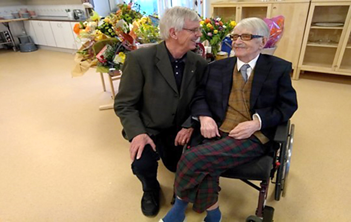 SPF Seniorerna Strömmen gratulerar på 110-årsdagen