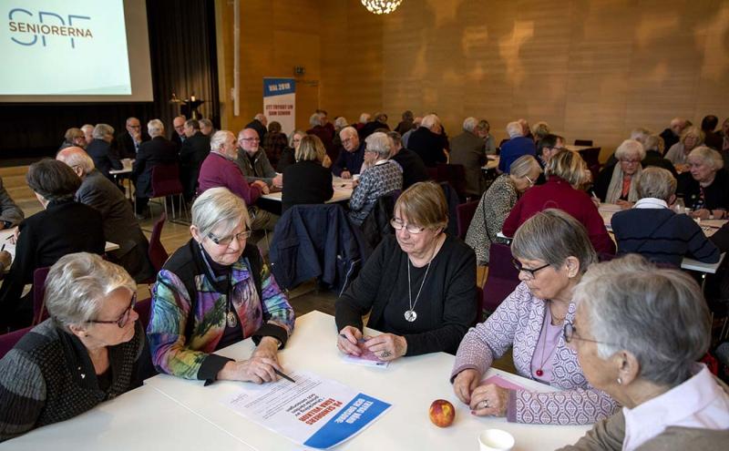 Fler pensionärer vill bli politiker