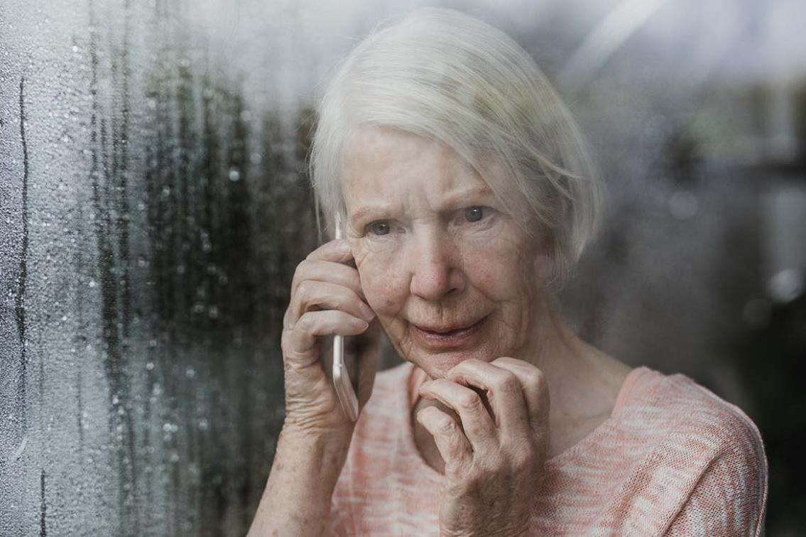 Var sjätte senior utsätts för brott
