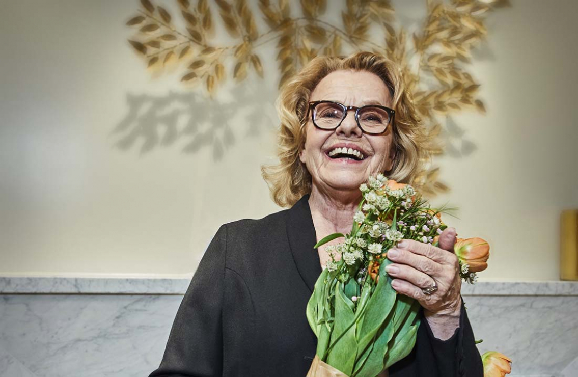 Marie Göranzon fick sitt pris!