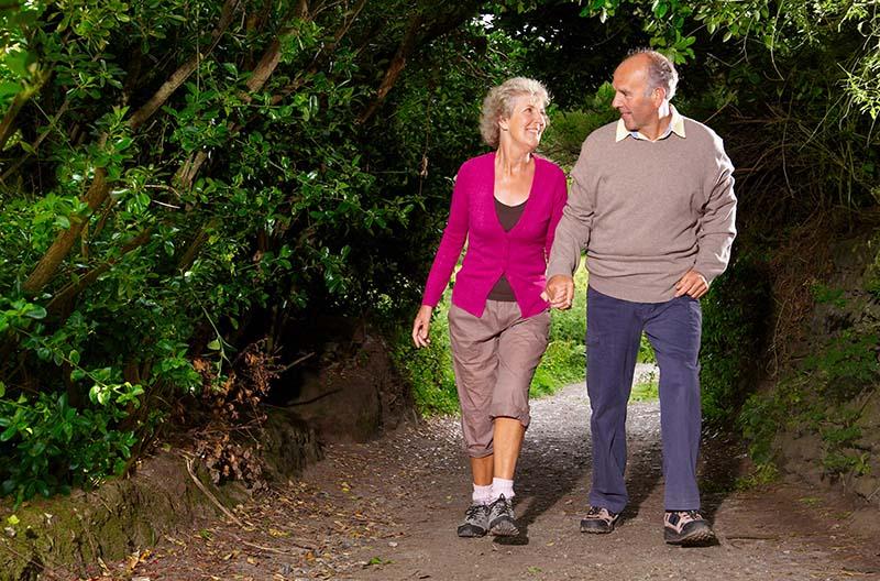 Mindre inflammation hos seniorer som rör sig