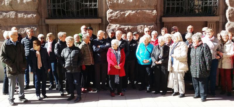 Besök på Riksdagshuset