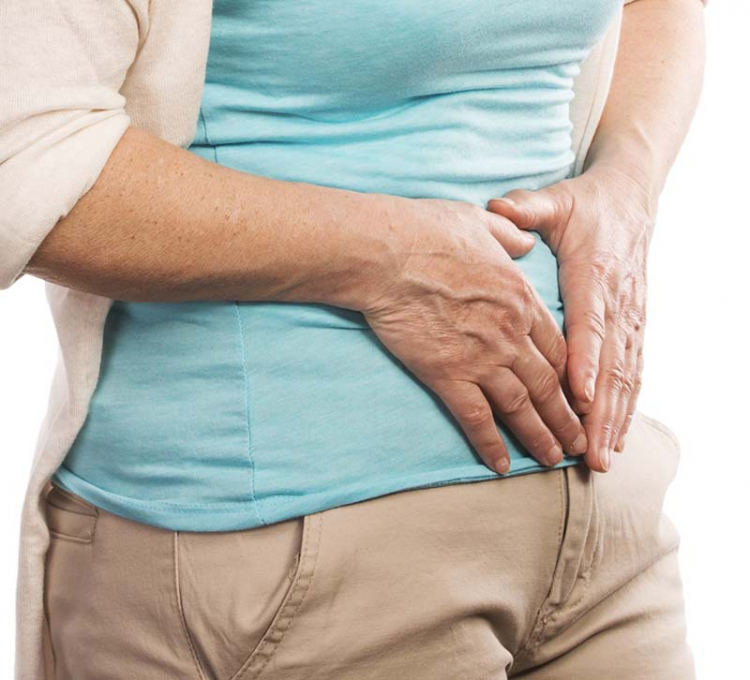 Äldre med magproblem mår sämre psykiskt