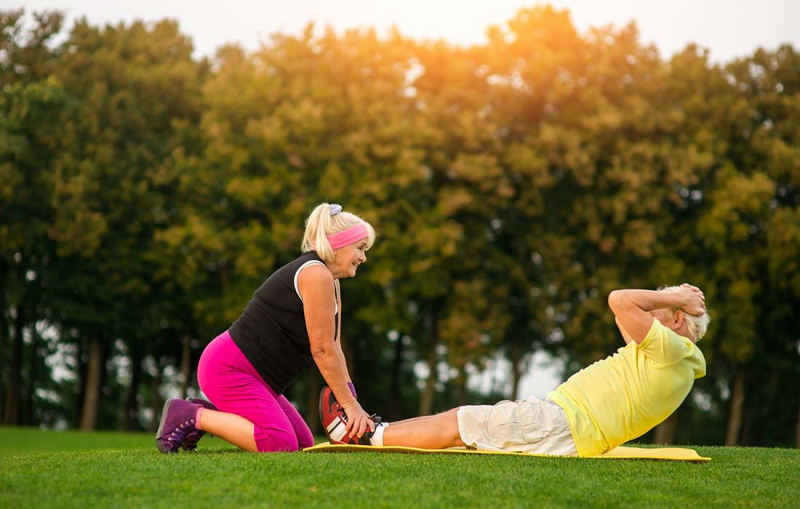 55+ motionerar allt mer