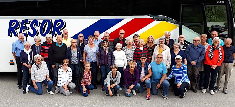 SPF Seniorerna Husby reste till Hurtigruten med besök i tre länder