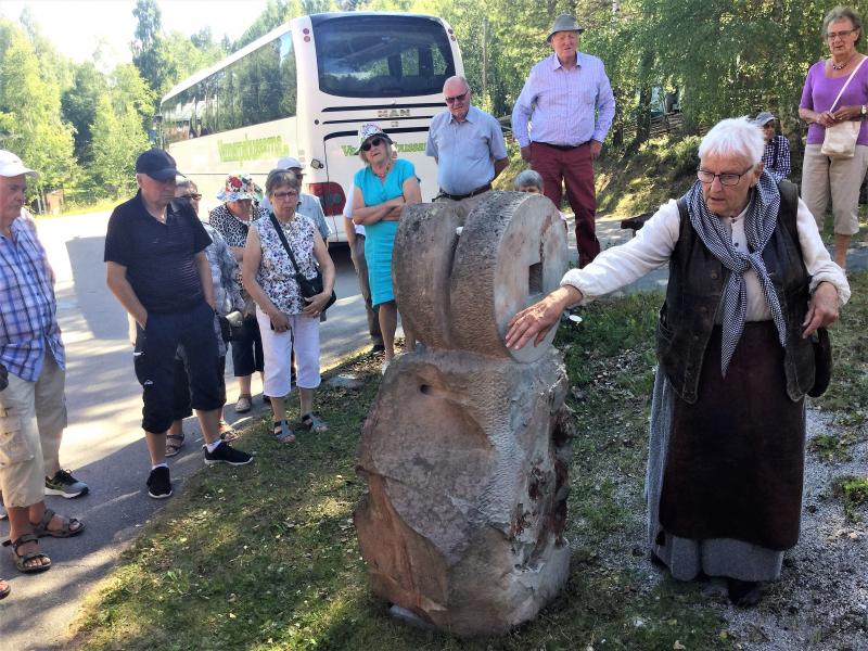 Skurupspensionärer besökte Dalarna