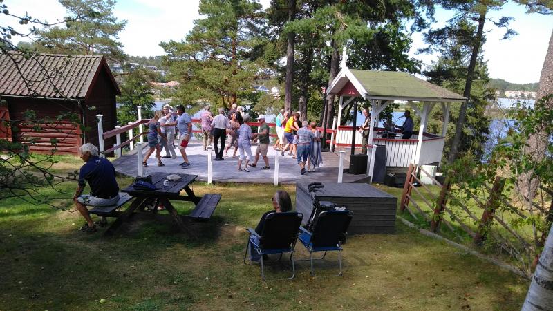 Sommarens sista dans på Strömstads Friluftsmuseum
