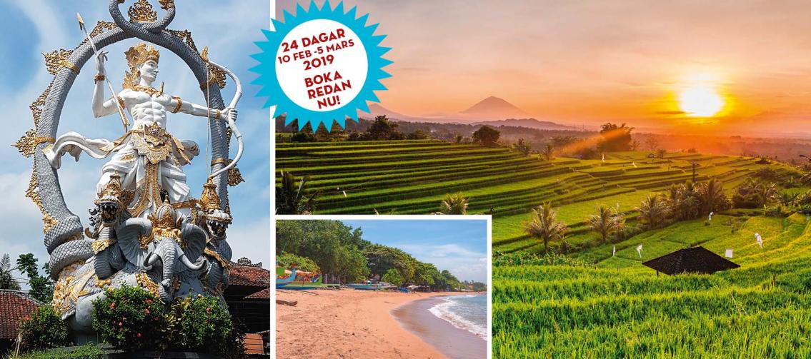 Långtidsvistelse på Bali