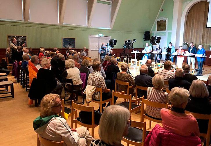 Valdebatt i Sandviken