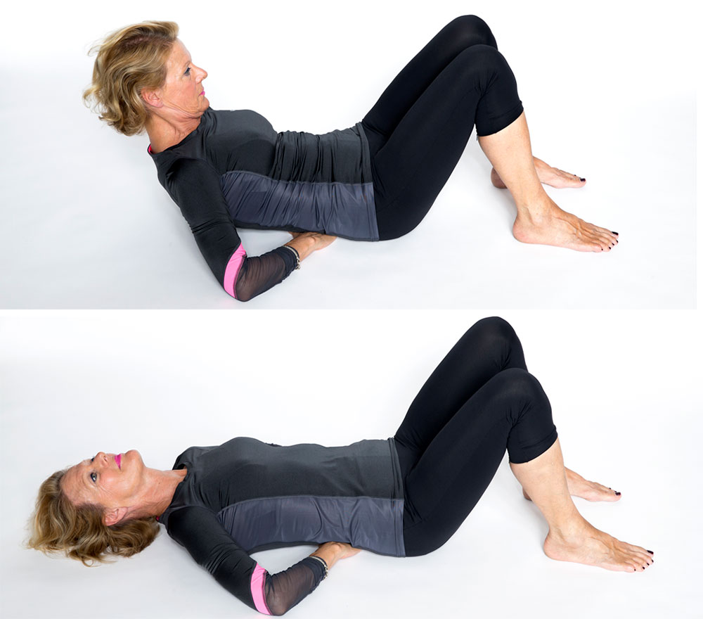 träna, magmuskler, övning, mage, muskler, core, buk, senior
