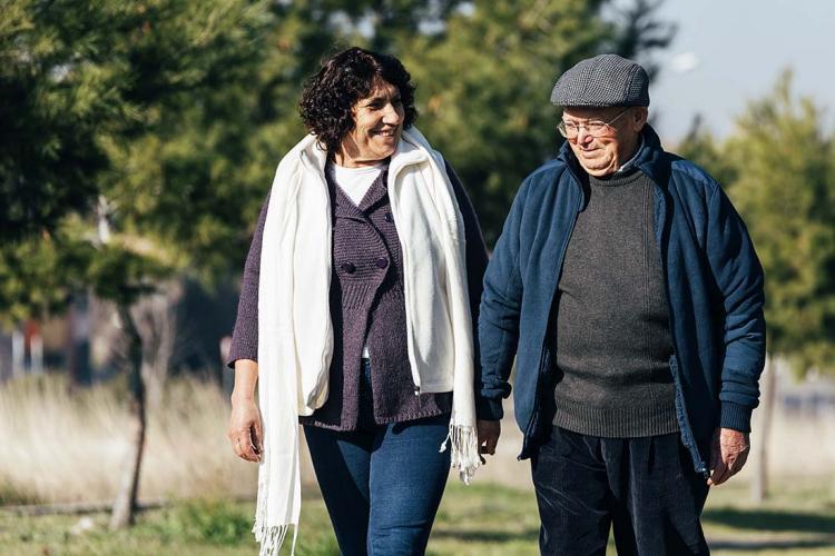 Dina promenader stärker försvaret mot stroke