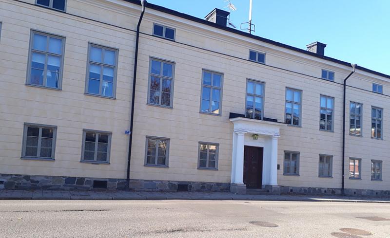 Besök på residenset i Falun