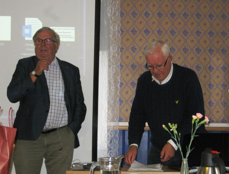 SPF Boren Borensberg månadsmöte oktober