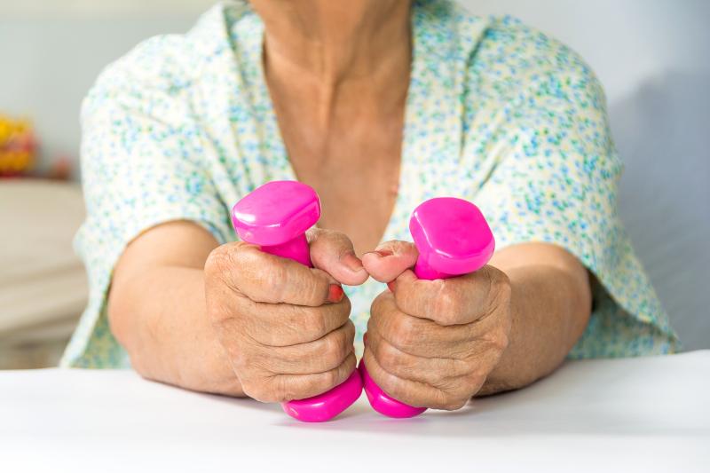 Tidsbrist stoppar äldre från motion
