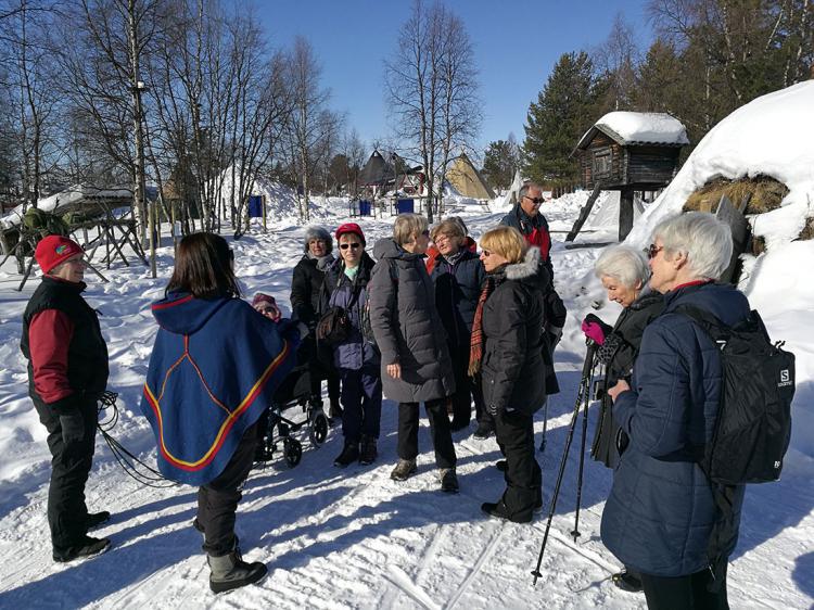 SPF Seniorerna Kiruna håller i samarbete med Malmfältens Folkhögskola engelskakurs för seniorer