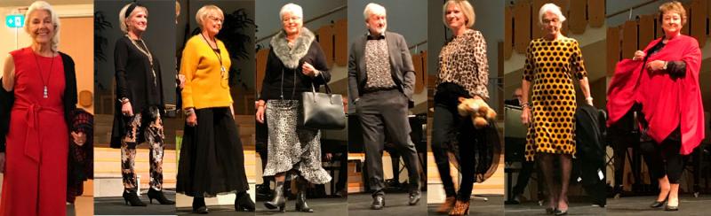 Modevisning hos SPF Seniorerna Freja