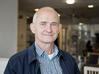 Kjell Lindström, SPF Seniorerna. Foto: Kajsa Juslin