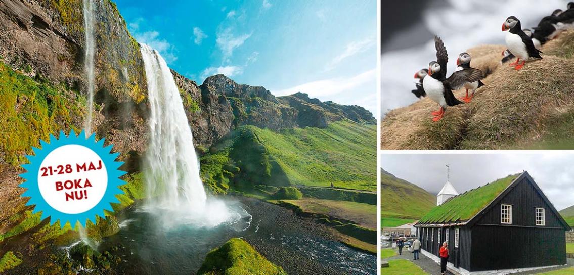 Vulkanernas Island & Gröna Färöarna