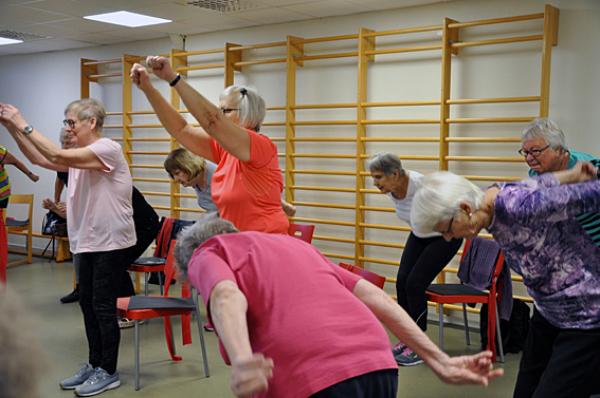 Seniorers idrottande får stöd