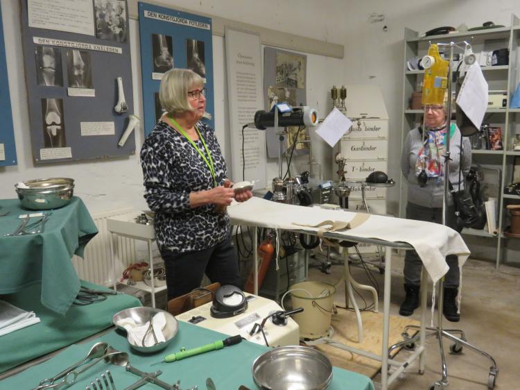 Besök på Medicinhistoriska muséet i Falun