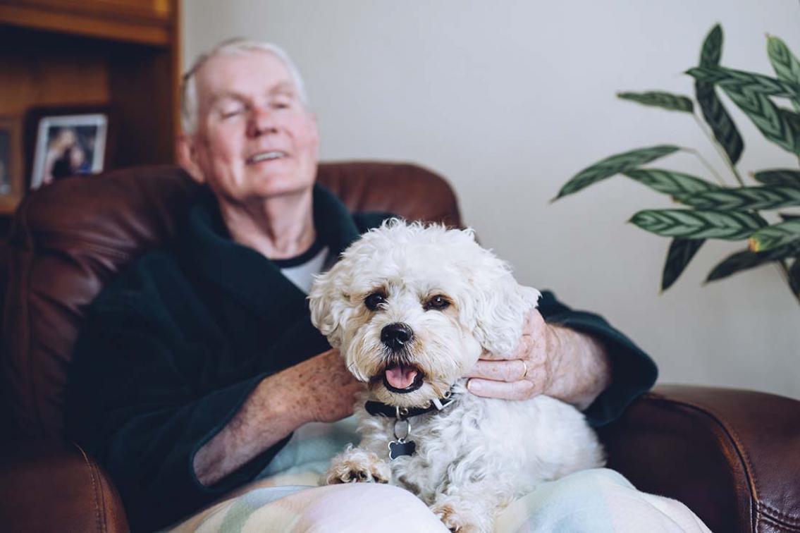 Angående pensionärer och storlek på hund