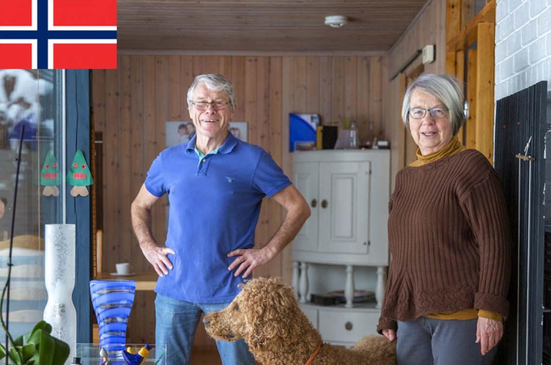 """Norska pensionärer: """"Vi har det faktiskt bra!"""""""