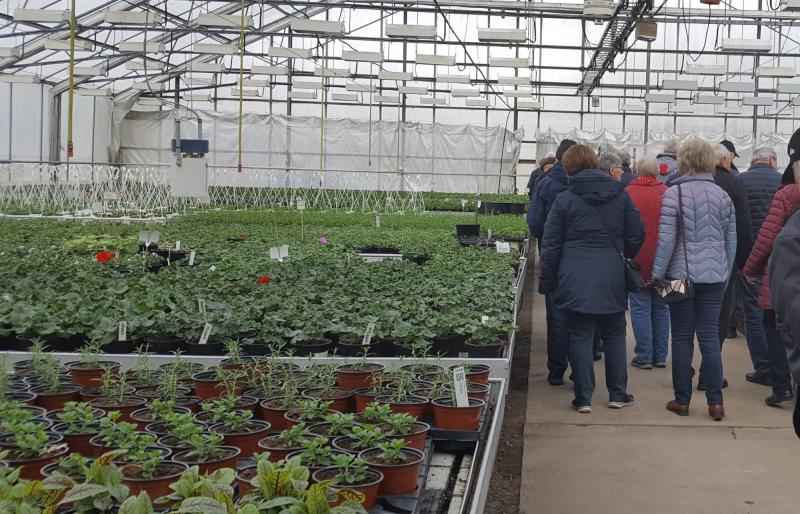 SPF Seniorerna Kiladalen har besökt Vrena grönt, Vrena vilt och Vrena pizzeria den 11 april 2019.
