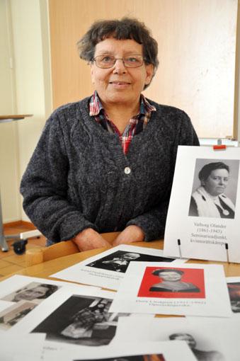 Kvinnor som fick ge gatorna namn i Falun