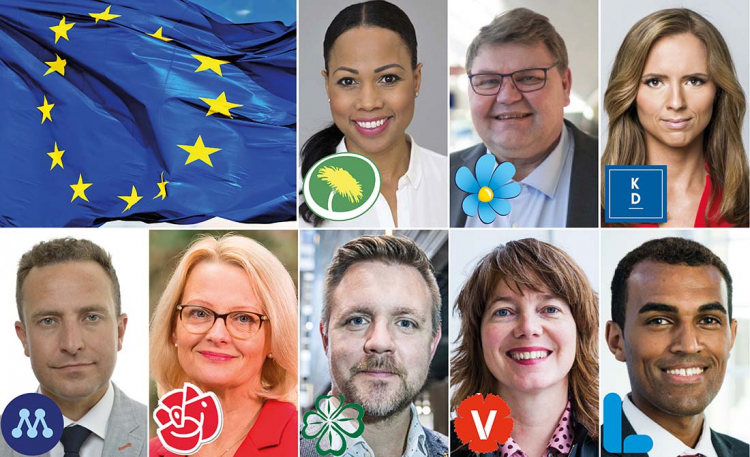 Så svarar partiernas EU-kandidater