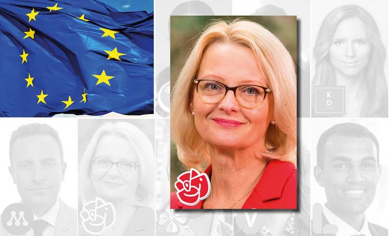 EU-valet: Hallå där Heléne Fritzon, Socialdemokraterna