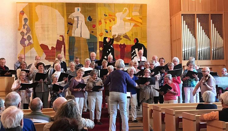 Vårkonsert med SPF Seniorerna Faluns kör