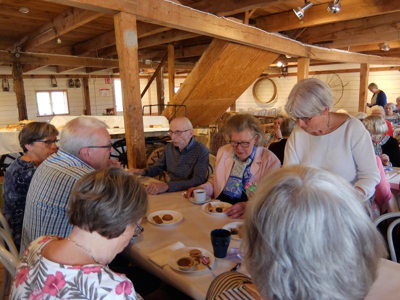 Birgitta Rasmusson från Hela Sverige bakar besökte Herrevad