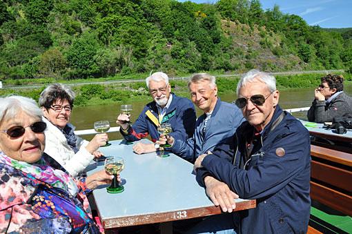 Mot Mosel och Pfalz för vin och sparris