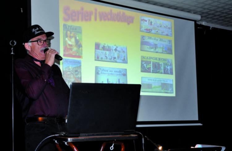 Nostalgi för 50-talet – show för SPF Seniorerna Faluns 40 år