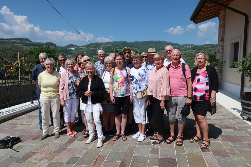Klimatsmart tågresa till Italien och Gardasjön  25 april – 4 maj