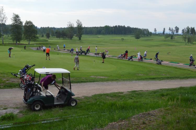 SPF Seniorerna Faluns golfmästerskap – en het tillställning