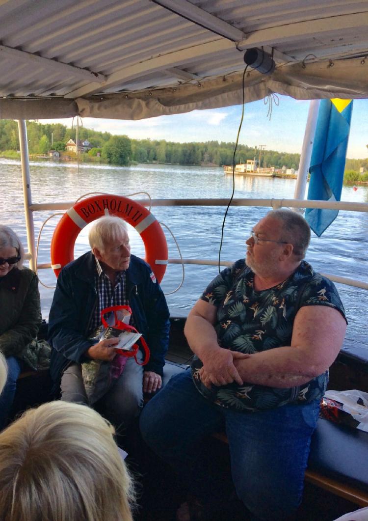 SPF Seniorerna Finspång/Hällestad, båttur på Sommen