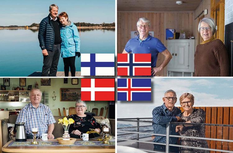 Pensionär i Norden – Så ser det ut