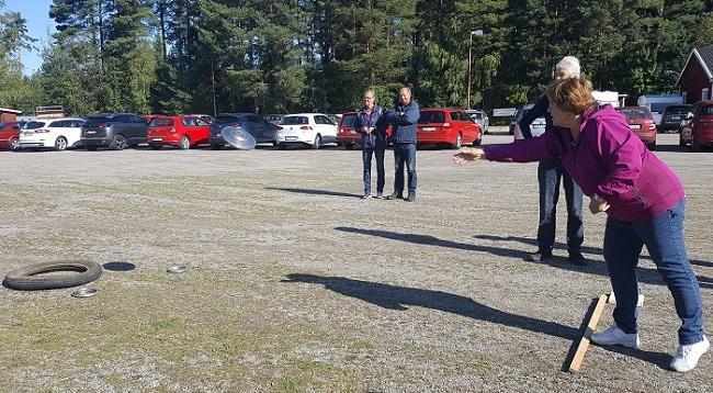 SPF Seniorerna i Kiladalen har haft Gemenskapsdag på Enstaberga IP.
