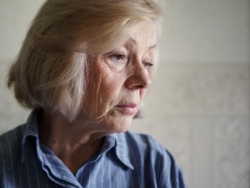 Var tredje kvinna över 77 har ångest