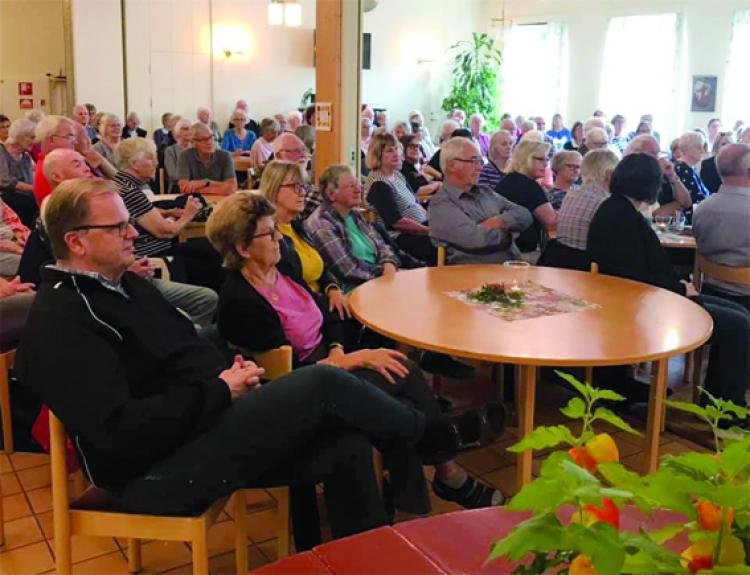 Fullsatt medlemsmöte fick höra om Centrala stadsrum