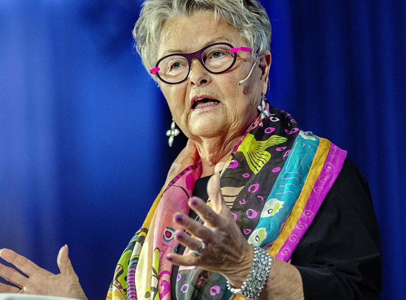 Eva Eriksson höll jubileumstal i Göteborg