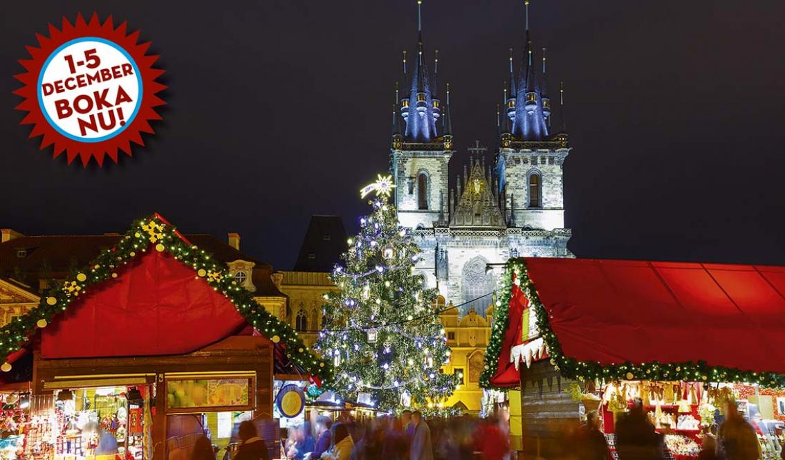 Julshoppa i magiska Prag