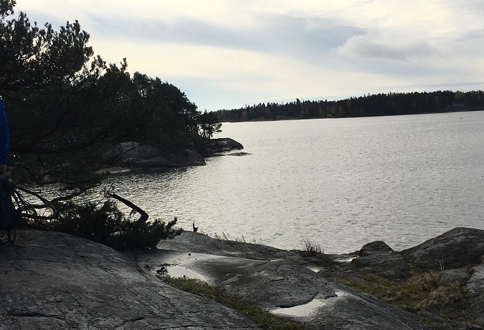 Vandring på Jogersö i Oxelösund