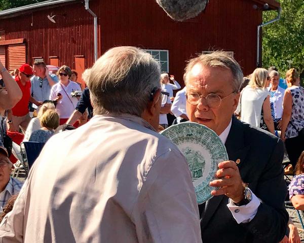 Knut Knutson känner kärlek till det gamla