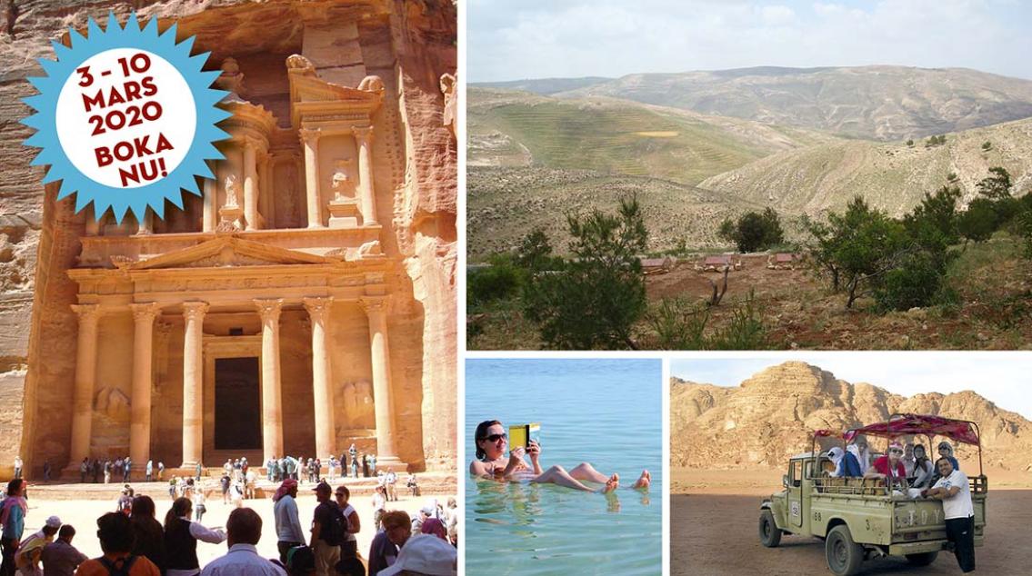 Jordanien – Petra och Wadi Rum