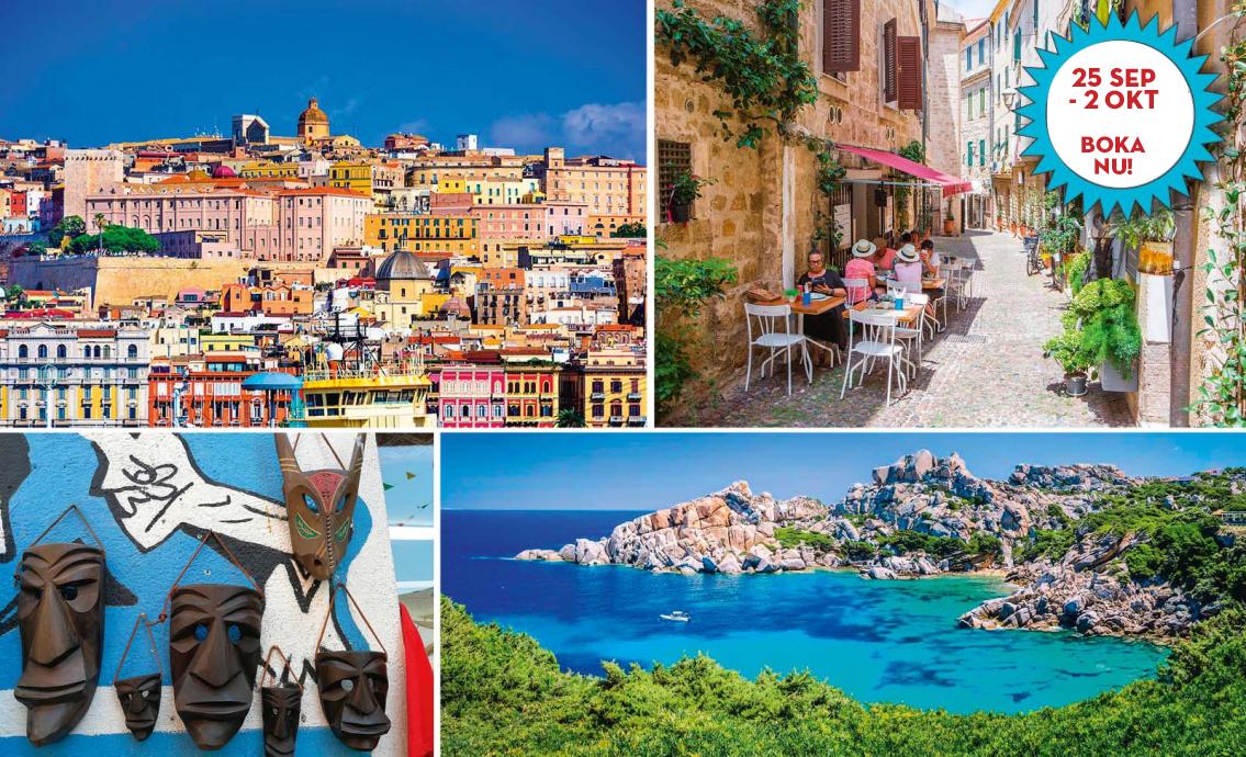 Vackra & mystiska Sardinien
